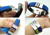 Wristband силикона самого нового спорта способа напористый (BZ-SR012)