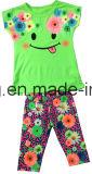 子供Printed Clothing、Summer SGS-101のためのBaby Girl Suit