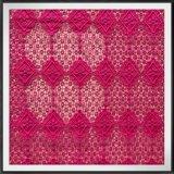 Guipura geométrica do produto químico da guipura do bordado do laço geométrico da guipura