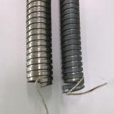 Canalização do metal flexível para a proteção do cabo