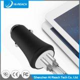 Заряжатель USB автомобиля мобильного телефона алюминиевого сплава 3.1A