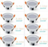 12W 4inch SMD LED Downlight, alto bulbo de los lúmenes LED