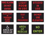 Methodensicherheit Zeichen des LED-einteiliges Gehäuse-AVB
