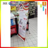 Commode pour porter facile d'installer le stand 80 x 180 cm de drapeau de X
