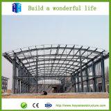 Oficina da construção de aço com frame do espaço do standard alto
