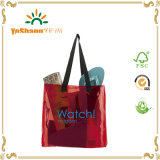 2016 Promoção Moda Transparente PVC Beach Bag, Custom Plastic Beach Bag