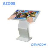 21.5 '' 24 '' 32 '' 43 '' 50 '' 55 '' 58 '' 65 '' Art-Fußboden-Standplatz LCD aller der Form-K in einem Noten-Kiosk