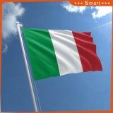 Bandeiras nacionais de Italy da bandeira feita sob encomenda do poliéster