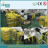 кабель отрезка провода волокна 0.9/2.0/3.0mm St/Sc/FC/LC/MTRJ/E2000/Mu/SMA/DIN оптический