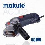 moedor de ângulo de 115/125mm Makute com certificado do Ce (AG002)