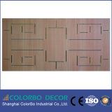 Panneau acoustique en bois de plafond de matériaux d'insonorisation