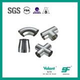 Accessori per tubi saldati sanitari del gomito dell'acciaio inossidabile