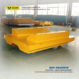 Stahlring-Tausendstel-Schienen-Auto-elektrische flache Laufkatze für das Übertragen