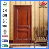 Portes intérieures de placage en bois solide de brame de cabinet de qualité (JHK-M03)