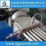 Máquina de fabricação de extrusão de grânulos de canto de perfil de PVC PVC