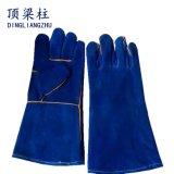 De Handschoenen van het Lassen van het leer voor de Bescherming van de Hand van de Veiligheid van de Arbeid