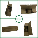 緑の印刷波形ボックスカスタムサイズ波形ボックスAlibabaの卸売