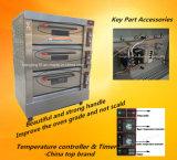 Heißes Verkaufs-Bäckerei-Geräten-elektrischer Plattform-Ofen mit Cer-Bescheinigung