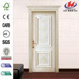 Кожа двери меламина твердой древесины высокого качества отлитая в форму ламинатом (JHK-MN12)
