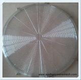 Le treillis métallique soudé protègent le butoir de grille pour ventilateur