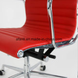 Самомоднейший кожаный алюминиевый стул встречи приема гостиницы офиса (RFT-E02)