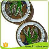 Monedas al por mayor baratos del desafío y moneda de encargo del metal