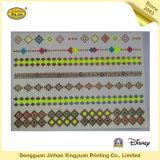 De gouden en Zilveren Glanzende Stickers van de Tatoegering van het Lichaam voor Meisjes (jhxy-TT0019)