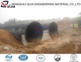 10年の工場からの電流を通されたアセンブリ波形の鋼鉄排水渠の管