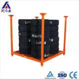 China Tubular Metal Warehouse Tire Rack