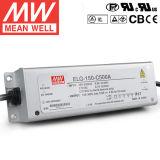 Fuente de alimentación impermeable de Taiwán Meanwell LED Elg-150-C500A 150W 500mA 150-300V