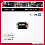 Luz de advertência da viseira do diodo emissor de luz (LTDG312-1)