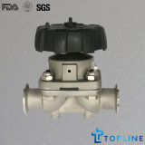 Steel inoxidable Sanitary Diaphragm Valve (nouvelle conception)