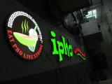 Vendita calda che fa pubblicità al segno acrilico delle lettere della Manica di nome del negozio della strumentazione