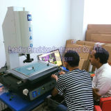 Microscópio de medição do Rebar do manual Non-Contact 2D para a placa de circuito e o PWB (MV-4030)