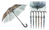 Tierhaut-Rock-windundurchlässiger kompakter Regenschirm (YS-3FA22083906R)