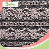 Tissu bon marché de lacet d'extension de tissu de lacet de machine à tricoter de tissu de maille