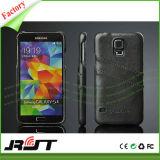 Cassa di cuoio di lusso del telefono mobile dell'unità di elaborazione per la galassia S6 di Samsung