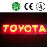 Lettere di plastica di alfabeto di alta qualità LED