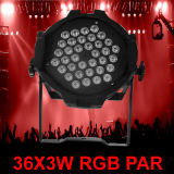 3W RGB 54PCS 알루미늄 벽 세척 LED 단계 빛