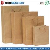 Bolsa de papel de Brown Kraft de la alta calidad sin cualquie impresión