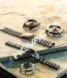 Il Cookware dell'acciaio inossidabile di Hcvac pesca il vuoto dell'oro della coltelleria PVD che metallizza la macchina
