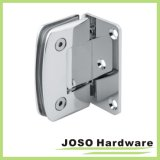 90 graus Glass a Wall Brass Bathroom Hinge Bh6001A