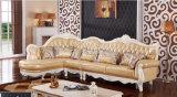 居間の家具の純木のソファー