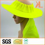 Sombrero 100% del compartimiento del acoplamiento del poliester con la tubería reflexiva