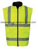 高い可視性の反射ジャケット、反射ジャケットの安全作業摩耗