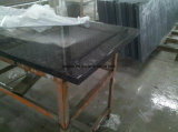 Parte superiore nera di vanità del granito di alta qualità