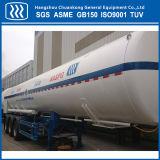 De chemische Semi Aanhangwagen van de Tanker van het Argon van de Stikstof van de Vloeibare Zuurstof