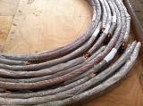 El cobre / acero al carbono acanalada Tubo / Tubo Fin Baja