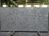 Pedra artificial material de quartzo da bancada da cozinha