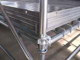 Heißes BAD galvanisiertes Cuplock Baugerüst-System